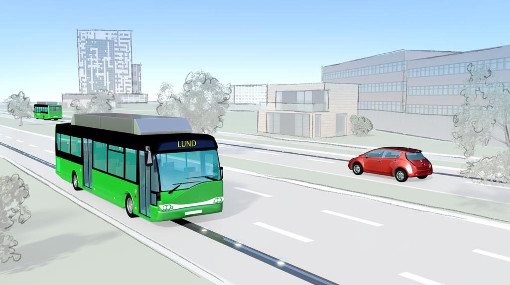Evolution Road-projektet byggs på Getingevägen i Lund.